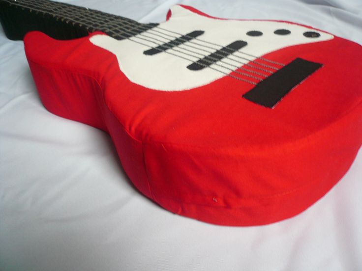 E-Gitarren Kissen