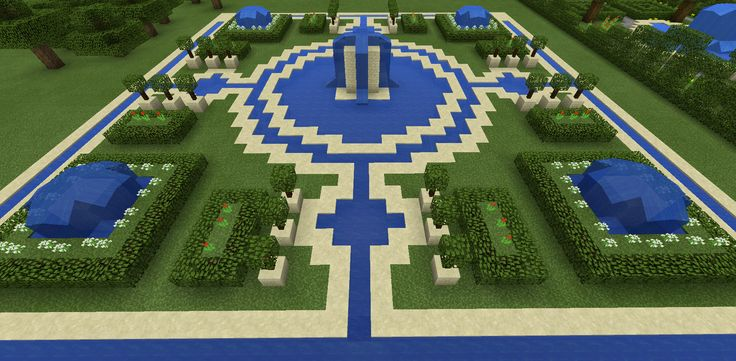 Garden Design Minecraft minecraft fountain garden maze | minecraft creations | pinterest