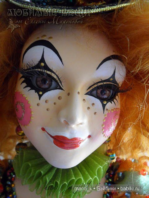 Блистательная Коломбина. Такая разная... / Авторские куклы и игрушки у нас дома / Бэйбики. Куклы фото. Одежда для кукол