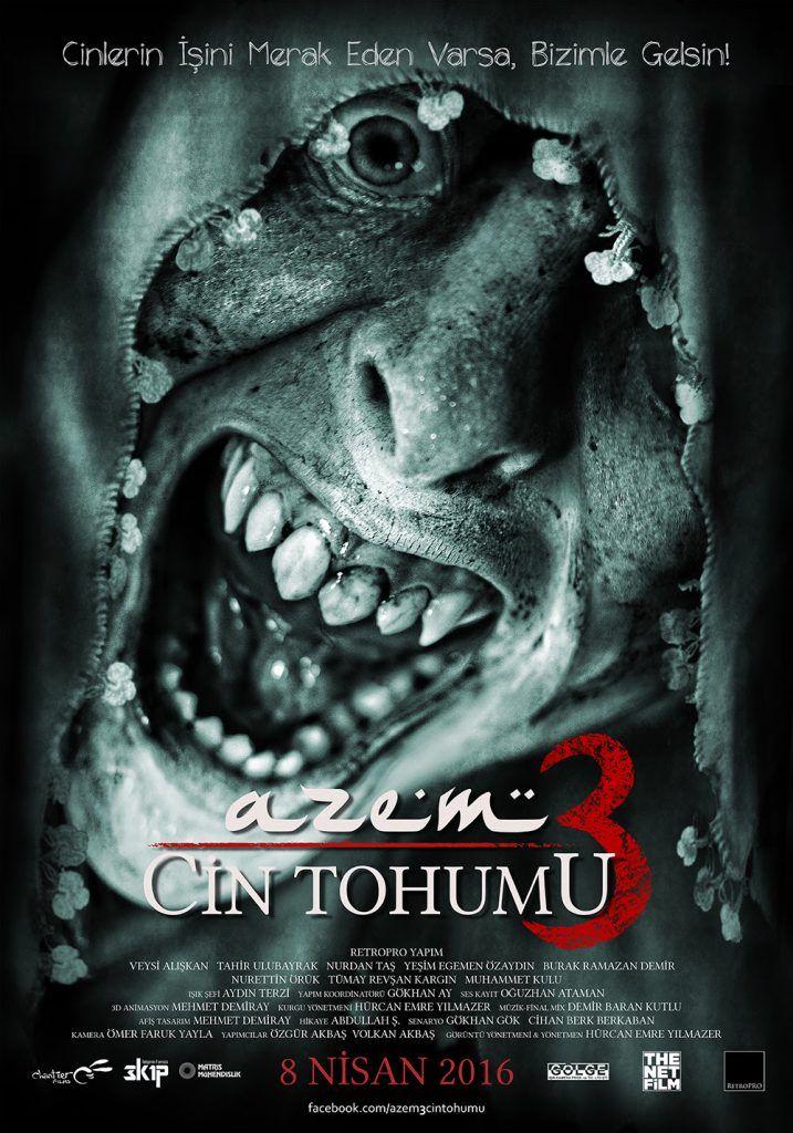 Azem 3: Cin Tohumu Full izle Yerli Film Azem 3 Full Film izle, Cin Tohumu Full izle, Azem 3: Cin Tohumu Tek Parça Film izle