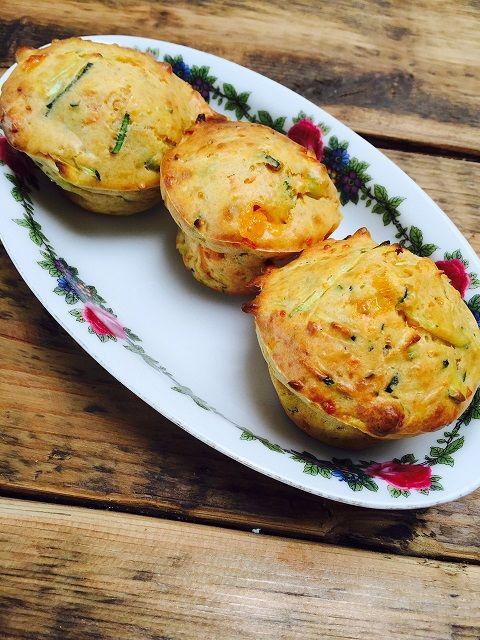 Groentemuffins receptblog Foodinista vegetarisch recept