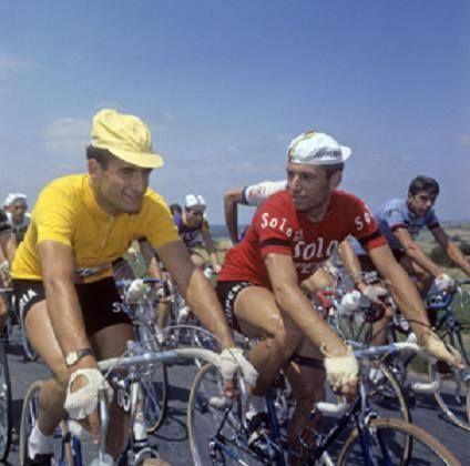 Bernard Van De Kerckhove+ (gele trui) & Rik Van Looy