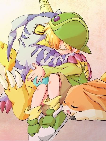 anime, tk, and digimon adventure εικόνα