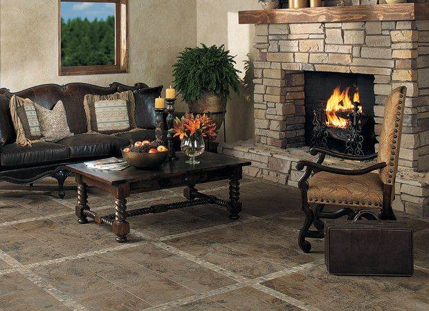 Attractive Living Room Tile And Stone Part 28