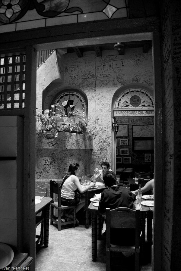 La Havana, Cuba.  La Bodeguita del Medio.Before Castro