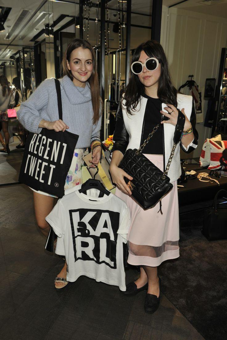 Strike a pose at Karl Lagerfeld #RegentTweet #RegentStreet
