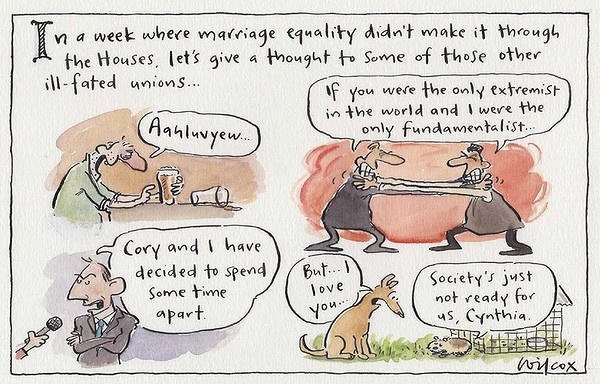 Sunday, September 23, 2012. Illustration: Cathy Wilcox
