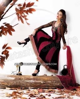 Elegance Salwar Kameez 2013 For Party Wear By NC
