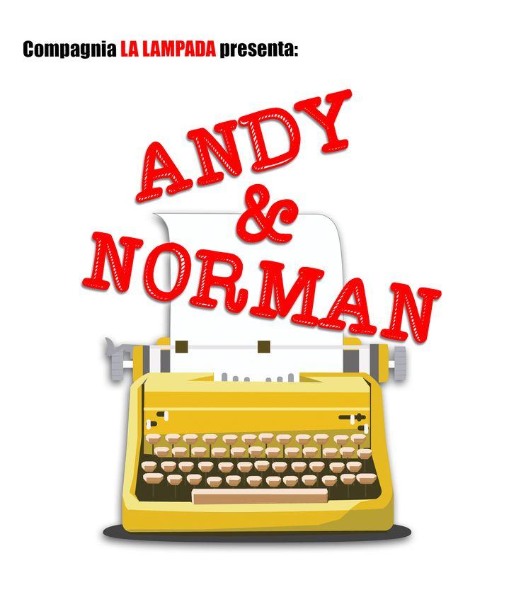 Andy & Norman  di Neil Simon Compagnia Teatrale La Lampada  #logo #andyenorman #teatro #commedia #commediabrillante #compagnialalampada #milano