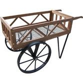 Found it at Wayfair - Flower Garden Wagon Planter
