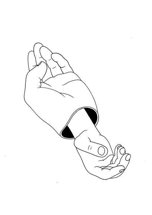 Mrzyk & Moriceau / Petra Mrzyk / Jean-François Moriceau / Drawings / Artists / Hands / Print / Illustration