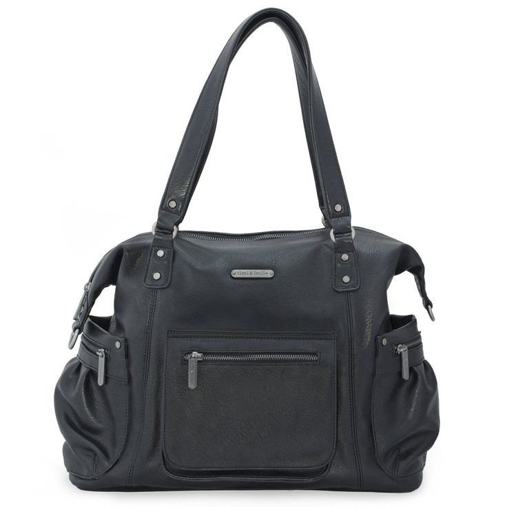 Timi & Leslie Abby Diaper Bag - Black - Diaper Bags at Hayneedle