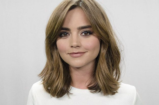 """Jenna Coleman Took Our """"Which Doctor Who Companion Are You"""" Quiz! Click to se her Qs & A's & results!"""