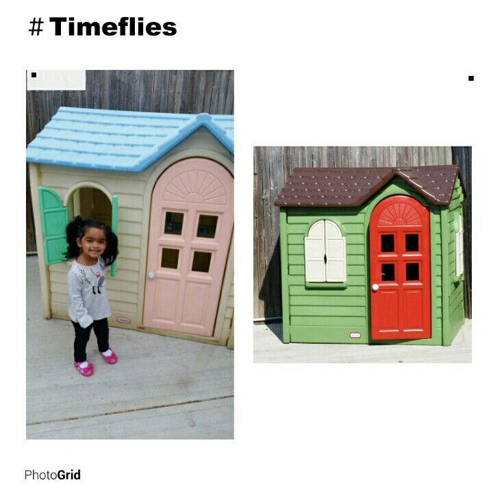 Little Tikes Playhouse Remodeled 15, Little Tikes Outdoor House