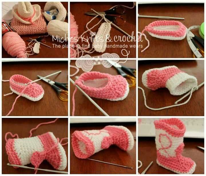 Step-by-Step to make cowgirl/cowboy boots.