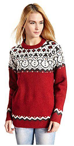 Hanson Women's Patterns Of Reindeer Snowman Christmas Cardigan - http://www.darrenblogs.com/2017/01/hanson-womens-patterns-of-reindeer-snowman-christmas-cardigan/