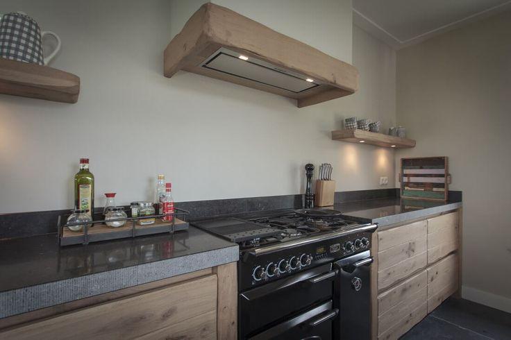 Massief houten keuken in stijl