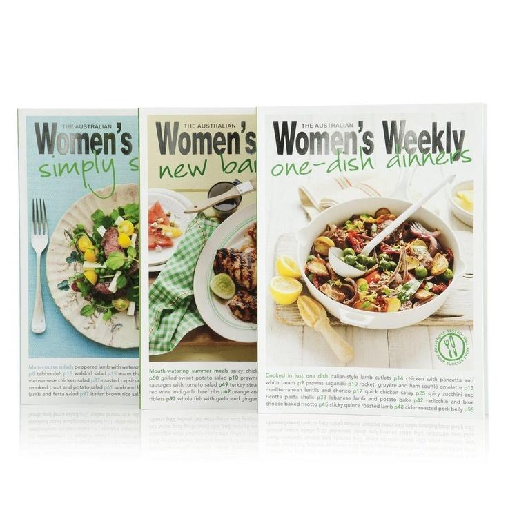 Australian Women's Weekly Cookbooks  $24.95