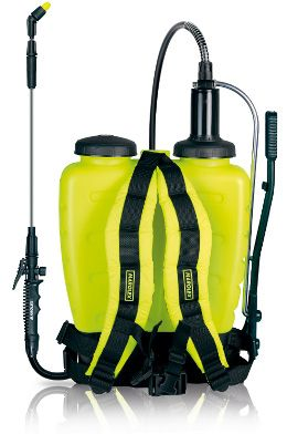 Titan is a modern and comfortable knapsack sprayer of 12, 16, 20 liters capacity.  It is perfect for spraying plant protection chemicals and liquid fertilizers in greenhouses, orchards and on plantations.  Titan knapsack is designed to make their exploitation and operation easy and comfortable. The lever can be adapted to either side of the sprayer to suit both right and left hand operators.
