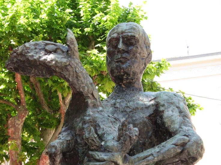 Estatua de Picasso a Vallauries, Provença