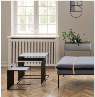 Ferm Living Cluster Tables Zwart SHOP ONLINE Purelifestyle