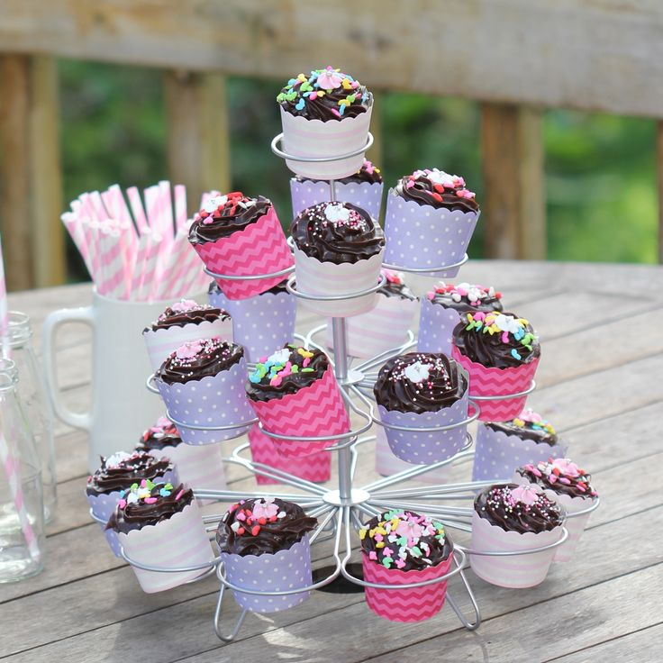 Cupcake Stand for hire http://missmouseboutique.co.nz/24-standard-cupcake-stand/