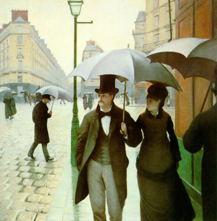 Gustave Caillebotte (1848-1894)  Paris Street  Oil on canvas  1877
