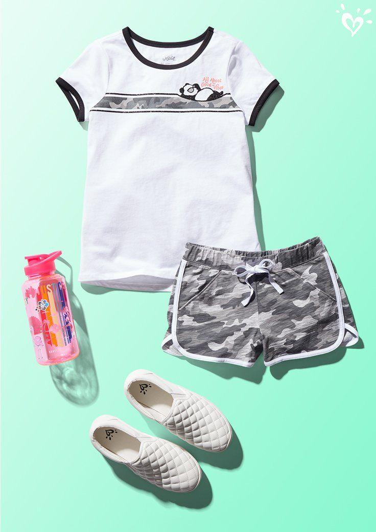 Ready For All Day Fun In The Sun Justice Girls Clothes Justice Clothing Outfits Girls Fashion Clothes