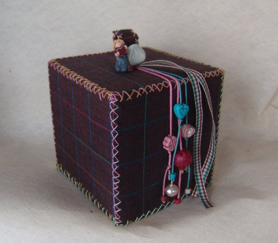 Lucky Charm Decorative Box. | Created by JKa. Available at https://www.etsy.com/shop/CreationsbyTzeniKa #CreationsbyTzeniKa