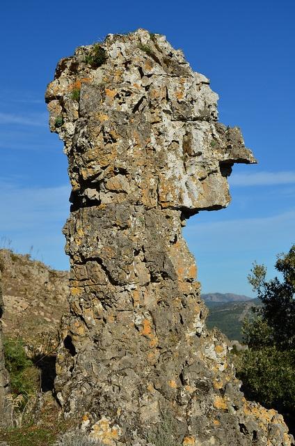 Ussassai - Roccia Monumentale, Sardegna