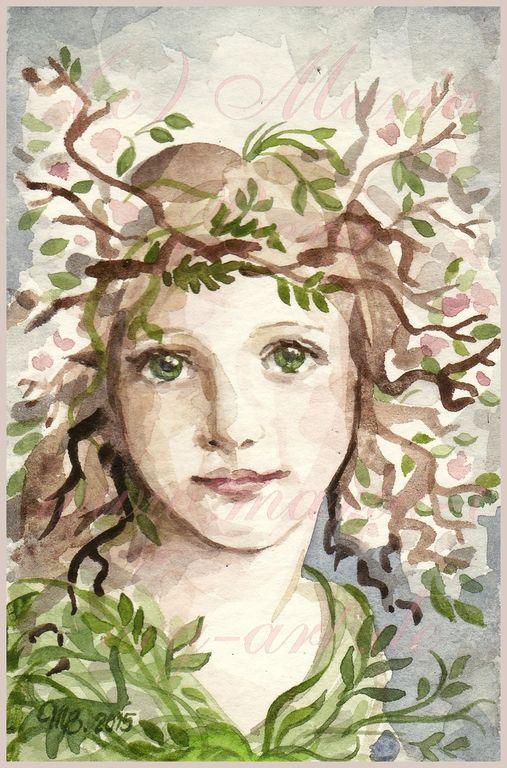 Maria Berg - Springtime  https://www.etsy.com/de/shop/MariaBergArt?page=2