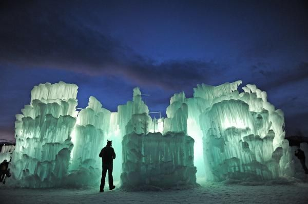 Ice Castles in Silverthorne, Colorado – One of a Kind Fairy Tale