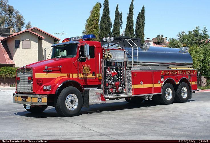 Las Vegas Fire Department Tanker Las Vegas Fire
