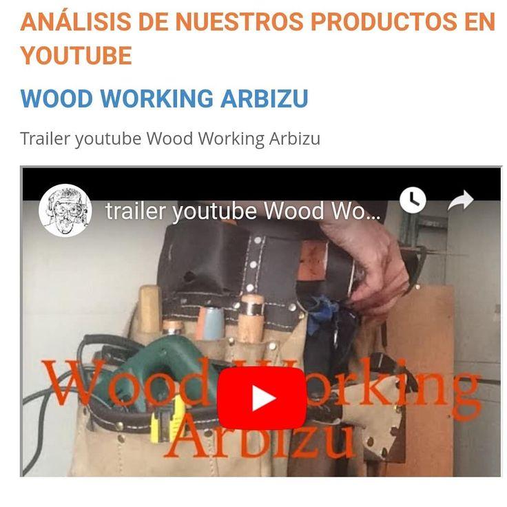Hoy os presentamos recién estrenado el nuevo canal de YouTube de @woodworkingar…