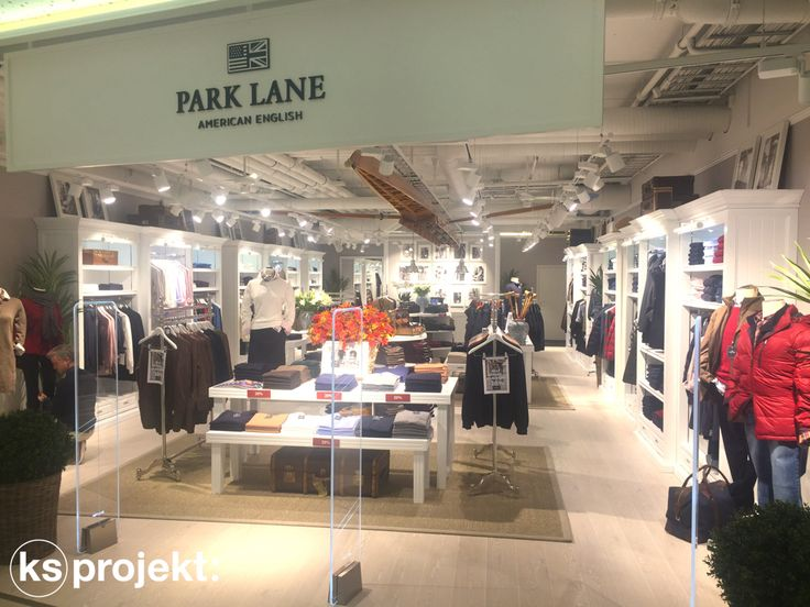 Park Lanes tredje butik öppnades i Bergen den 13/10-2016. KS Projekt har ritat och levererat inredning samt montering. Läs mer om vårt arbete med Park Lane.