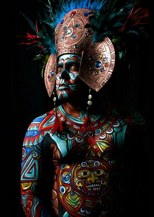 colorful  Mayan