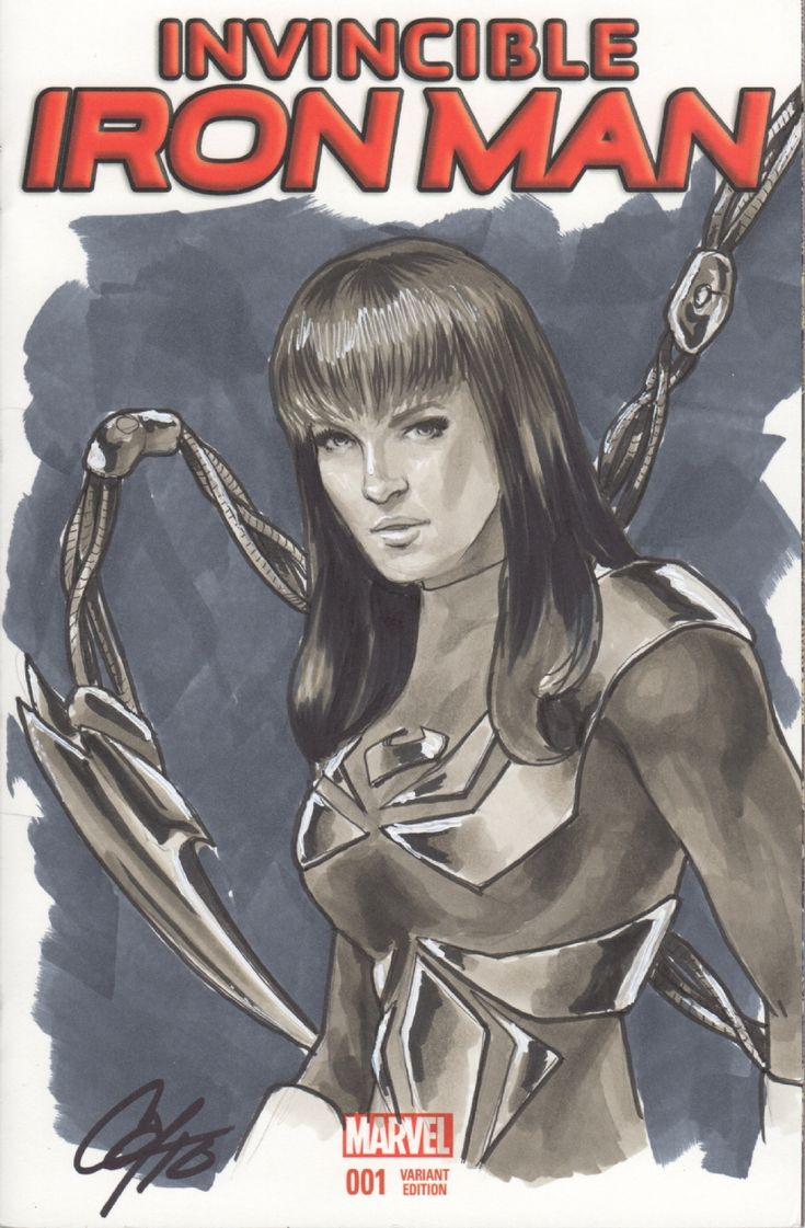 Mary Jane in the Iron Spider costume by Cat Staggs, in AdamReisinger's…