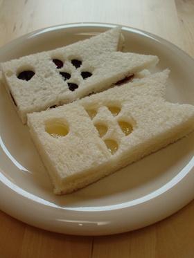 koinobori sandwiches (Japanese Children's Day)