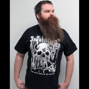 "Image of INQUISITION ""INTO THE INFERNAL REGIONS"" SHIRT"