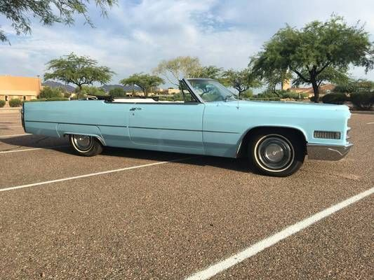 1966 Cadillac Deville Convertible For Sale In Fountain Hills