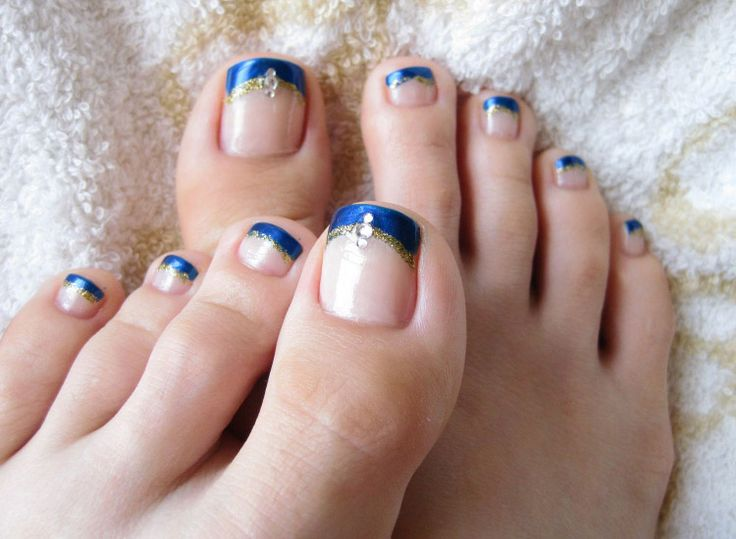 Long french tip toenails design for summer 2015 : Toenails With Frenchtip  Design - Best 25+ French Pedicure Colors Ideas On Pinterest French Toes