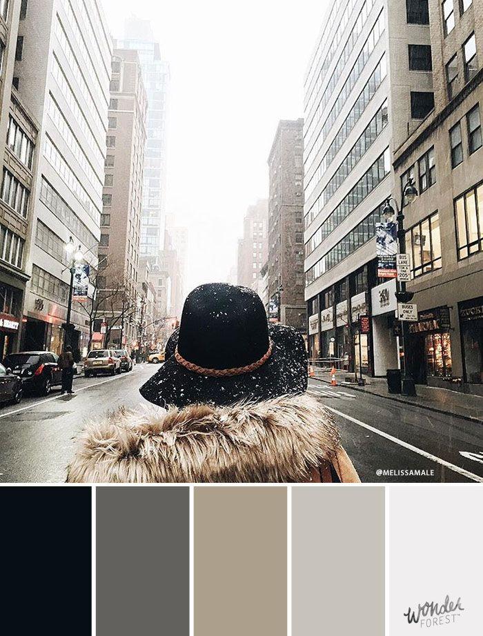 Colours of Instagram: Winter Fashion Palettes – Wonder Forest