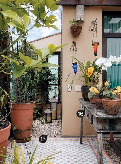 ideias jardim varanda:23 ideias charmosas para valorizar as varandas – Casa: Home, De Jardim