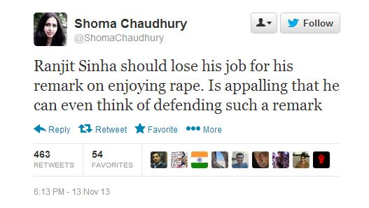 An open letter to Shoma Chaudhury