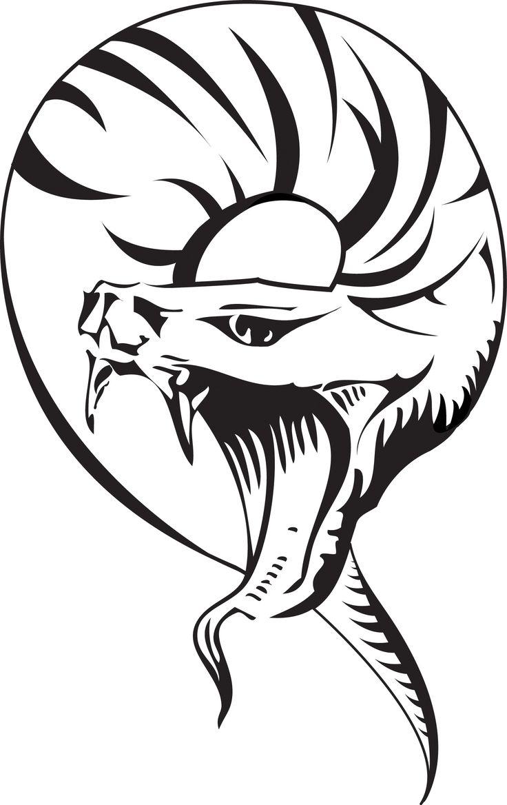 Tibal Snake Tattoos Tribal Snake Design Tattoosrmation  Free   Clipart Best