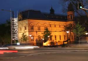 Adelaide Museum at Night