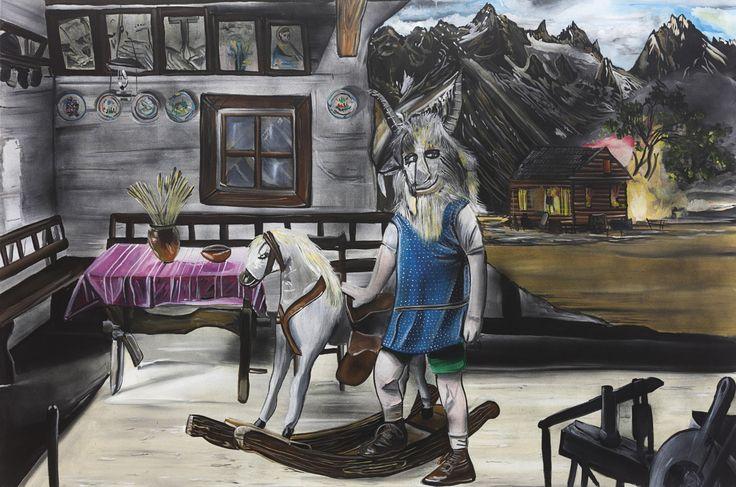 Kozlík 120 x 180 cm, 2016