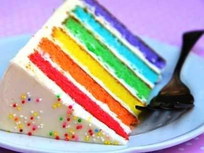 Rainbow Cake - Aneka video cara membuat resep rainbow cake kukus ncc tanpa mixer mini asli diah didi nyonya liem fatmah bahalwan paling lembut dan praktis ada disini.