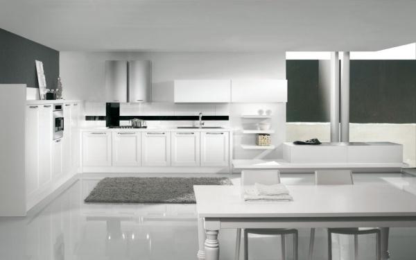 #RogersWinterWhites  White kitchen