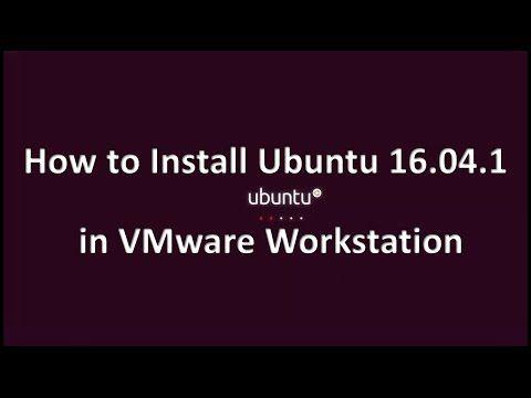 How to Install Ubuntu 16.04.1 LTS in VMware Workstation   IT SMART TRICKS